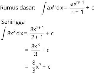 Pembahasan soal integral nomor 1