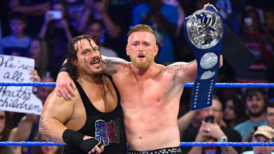 Rhyno WWE Heath Slater 2019 Tag Team Raw