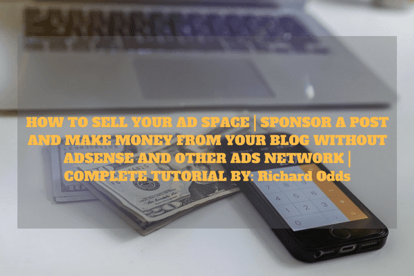 Every blogger like the choice of displaying banner ads on there sites which is a very cool way to generate money from your blog that is if your