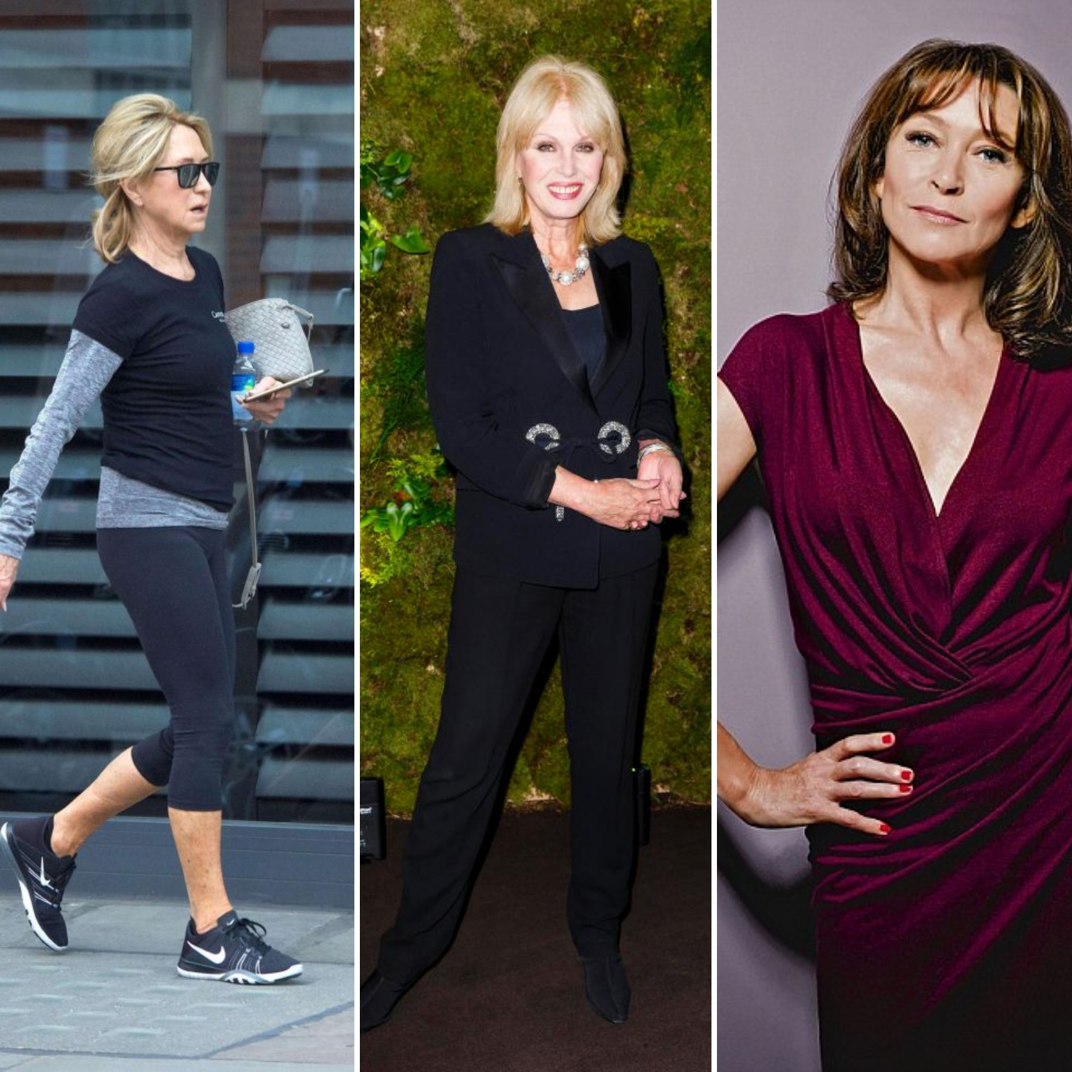 Age is no barrier to having great posture. Just look at actresses Felicity Kendal, Joanna Lumley and Cherie Lunghi