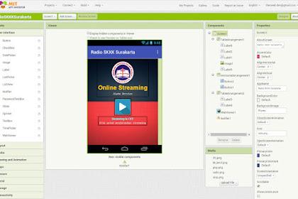 Membuat Android Radio Streaming Apps Tanpa Coding - App Inventor