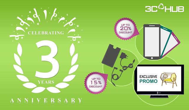 3CHub 3rd Year Anniversary