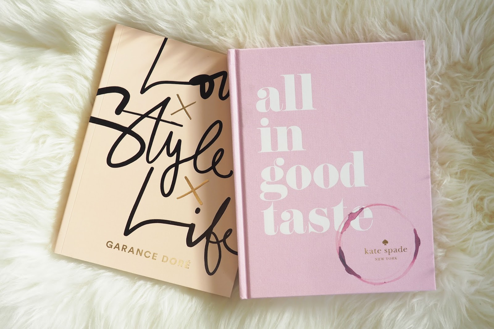love life and style book review, blogger books, Garance Dore, All in good taste kate spade