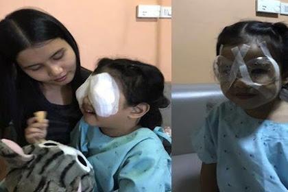 Akibat Anak Kecanduan Bermain Hp, Balita 4 Tahun Ini Harus JaIani Operasi Mata Karena Derita Gangguan lni