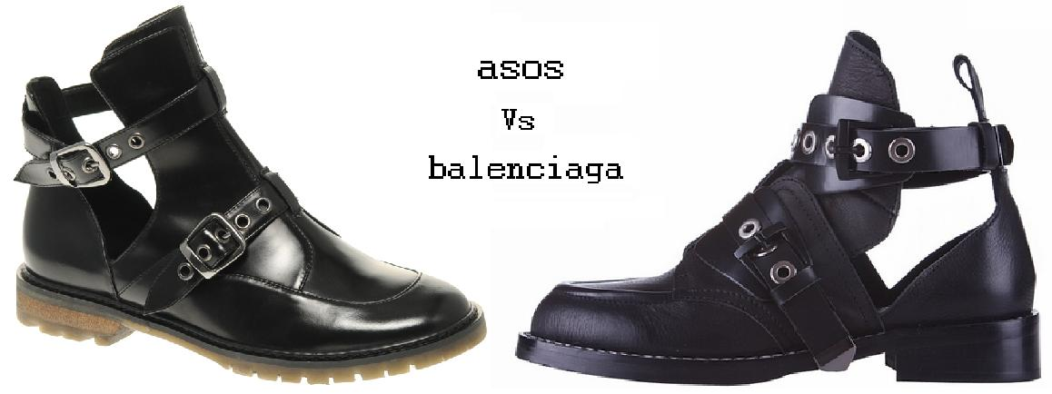 Spree Vs Steal Balenciaga Cut Out Ankle Boots The