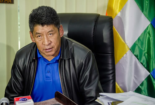 Pedro Montes, Senador por el MAS