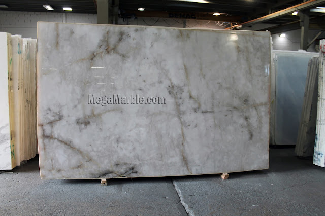 Quartzite White Slabs for Countertops NYC