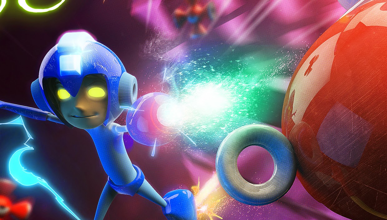 Mega Man - VCONCERT 2014 : Arte 3D