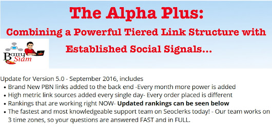 Google Page 1 SEO + Social- 2,826 orders. New and Improved Alpha PLUS V5.0