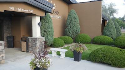 gardening, funeral, Medicine Hat, Alberta, formal, cemetery