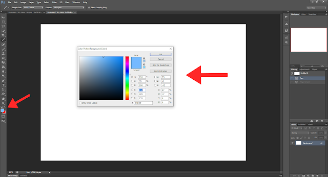 Cara Membuat Gambar Postingan Seperti di Arlina Design