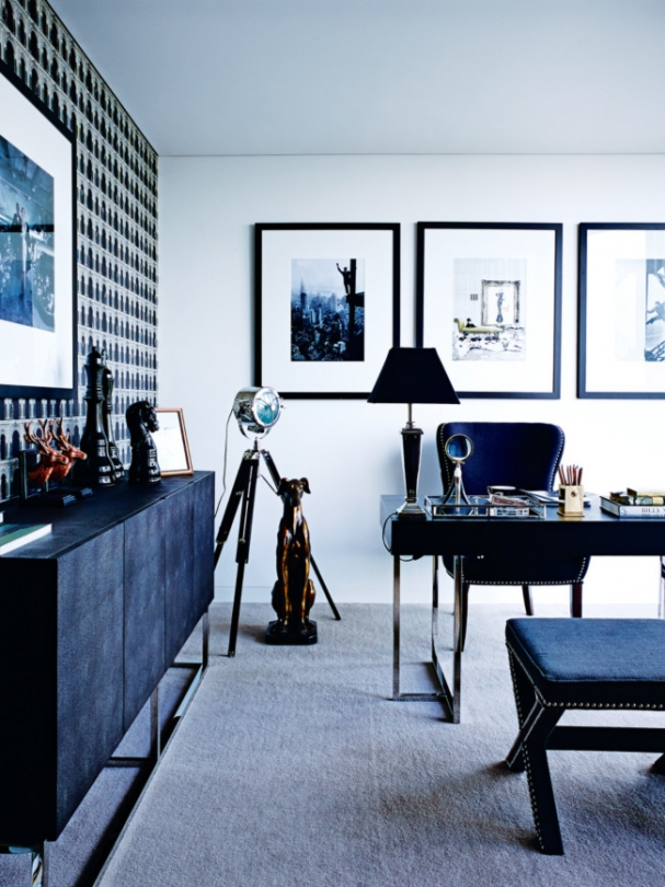 Tour This Amazing Fashion Blogger S Transitional Home Office: Megan Hess' Home By Vogue Living