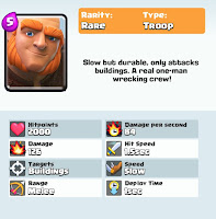 clash royale game giant card