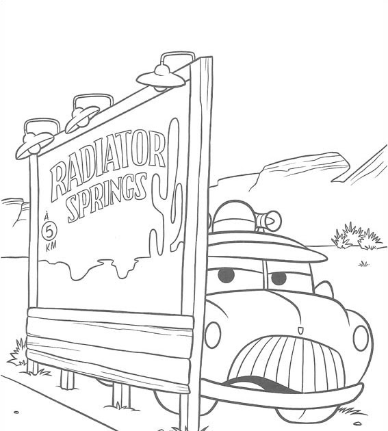 Cars 2 Coloring Pages: Carsthemovıe: Boyama(Colouring