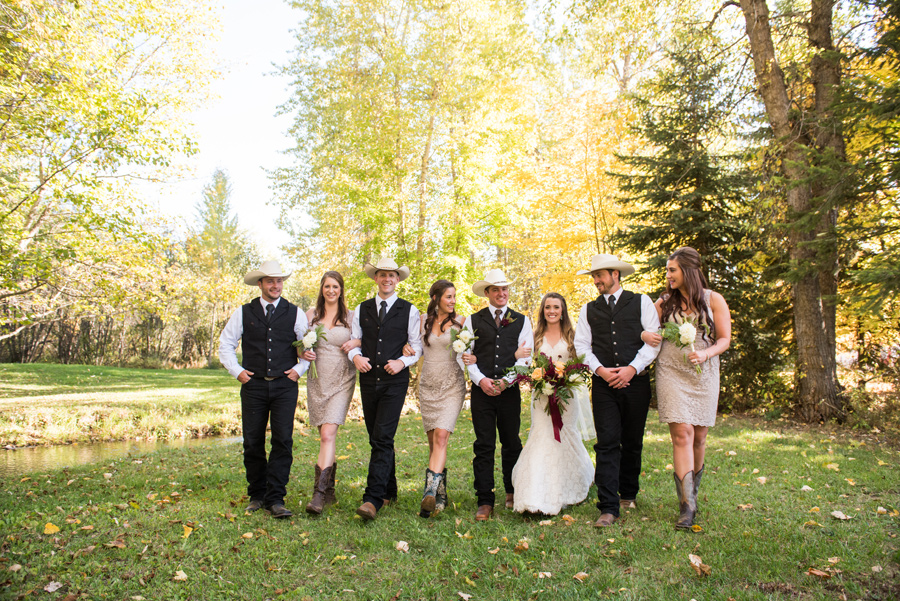 Wedding Party / Cali Frankovic Photography