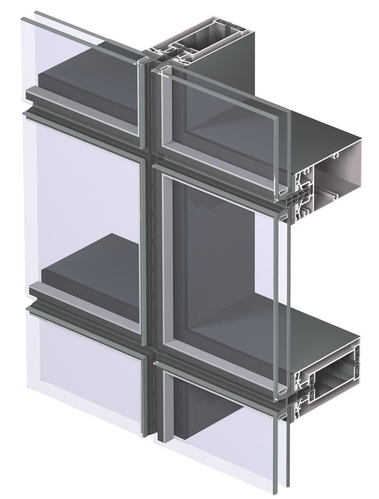 Reynaers Aluminio Y Arquitectura Fachadas Modulares Sin