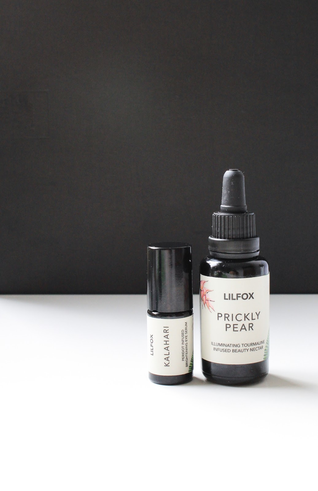 October Beauty Discovery Beauty Heroes LILFOX Prickly Pear Illuminating Beauty Nectar and Kalahari Brightening Eye Serum vegan