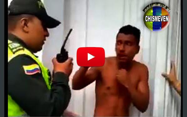 """Cucuteña intentó castrar a un ladrón de celulares Venezolano que """"andaba perdido"""""""