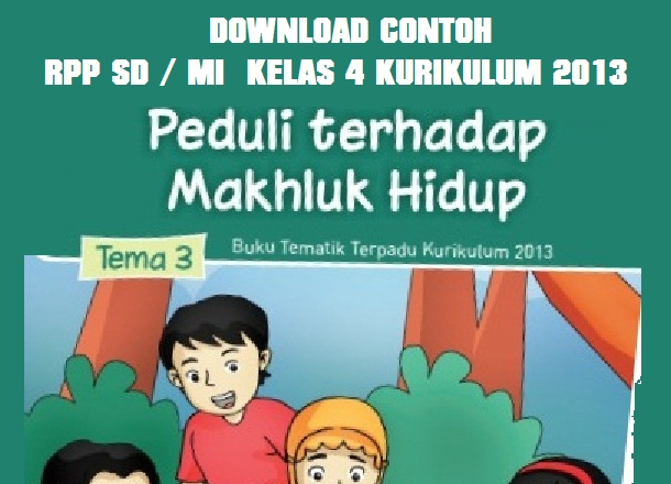 Unduh Rpp Sd Mi Kelas 1 2 3 4 Kurikulum 2013 Forum Guru Indonesia