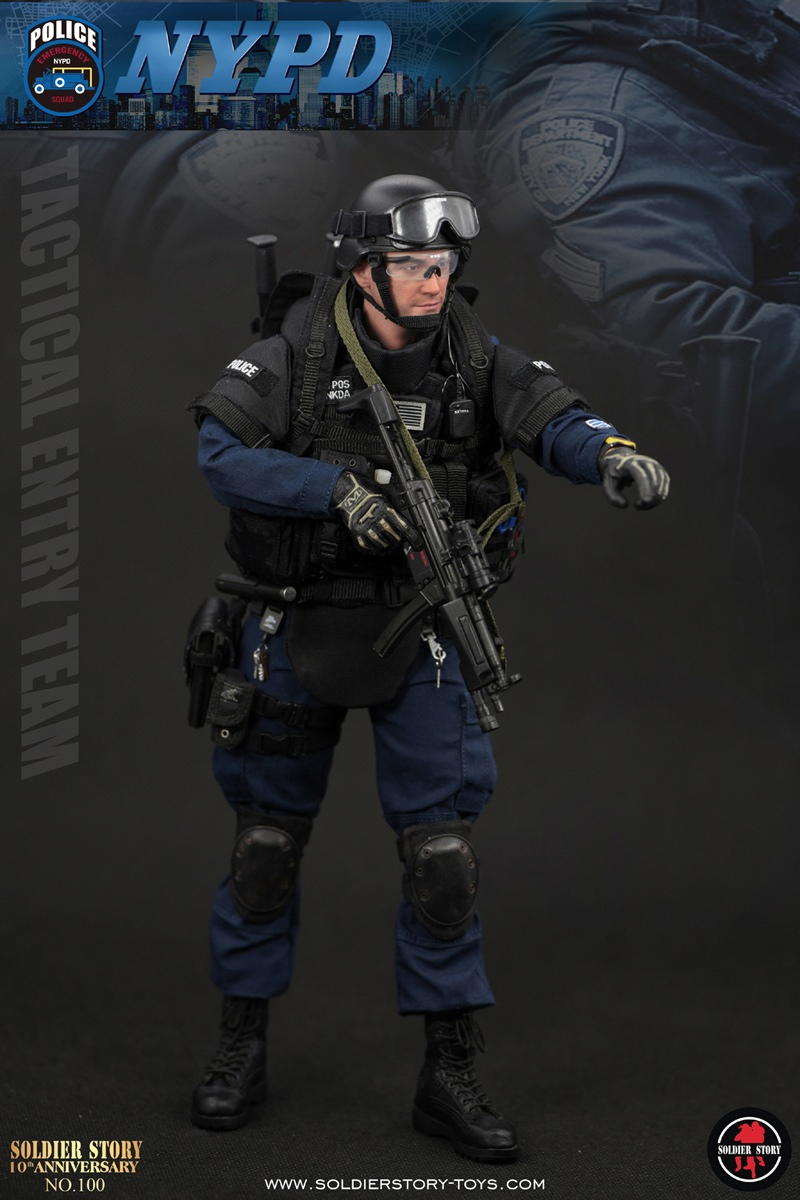 Pouches Set for SoldierStory SS 100 NYPD ESU TACTICAL ENTRY TEAM 1//6 Scale 12/'/'