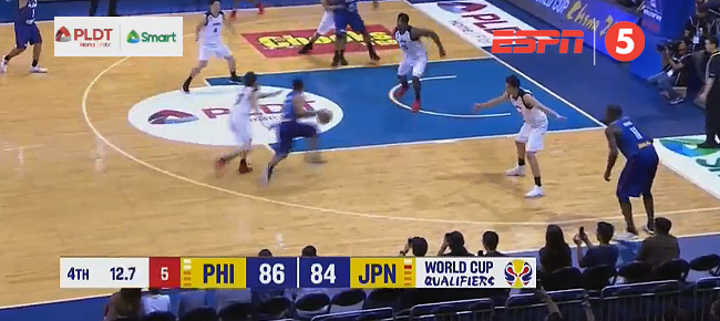 Jayson Castro's CLUTCH Shot vs. Japan (VIDEO)