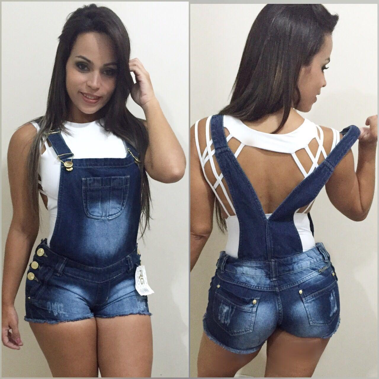 Jeansnoatacado jardineira jeans no atacado for Jardineira jeans feminina c a
