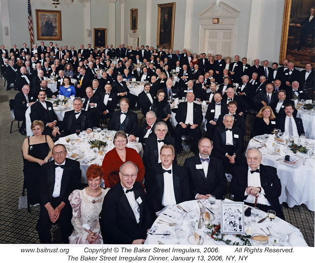 The 2006 BSI Dinner group photo