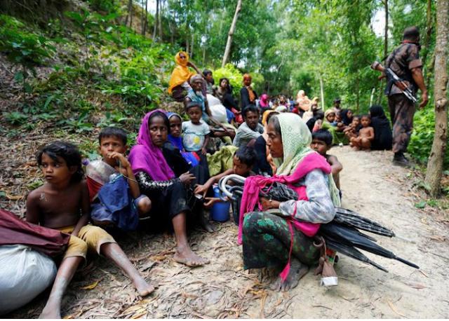 Warga Rohingya Disuruh Tak Keluar dari Kamp Pengungsian