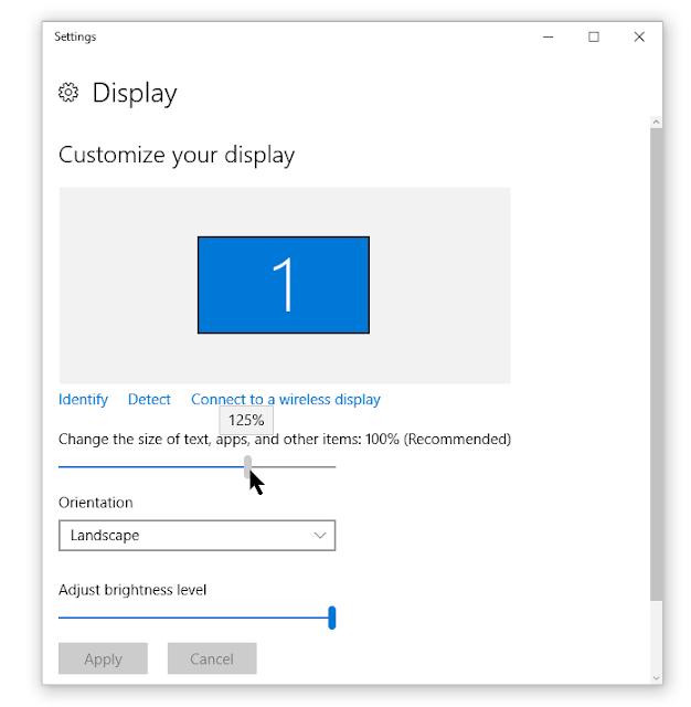 icon size windows 10