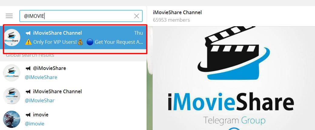 Cara Mudah Download Film Melalui Aplikasi Telegram - tlumbuk blog