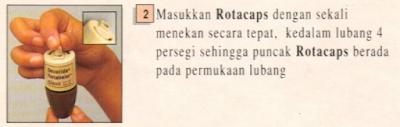 cara menggunakan rotahaler