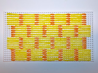 sample of stitch for basket