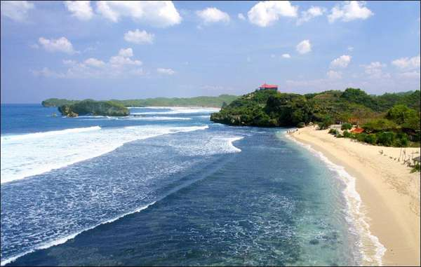 Ngliyep Beach The Best Beach In Malang East Java Indonesia Best Destination For Vacation In Indonesia