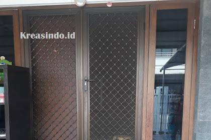 Penggantian Kawat Nyamuk Pintu Expanda Bu Vinny Kelapa Gading Jakarta Utara