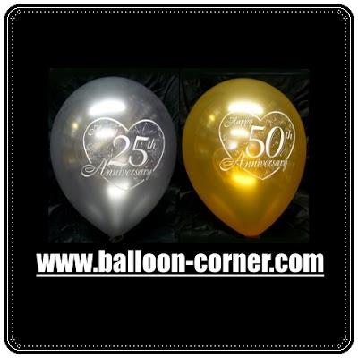 Balon Latex Printing Seri ANNIVERSARY