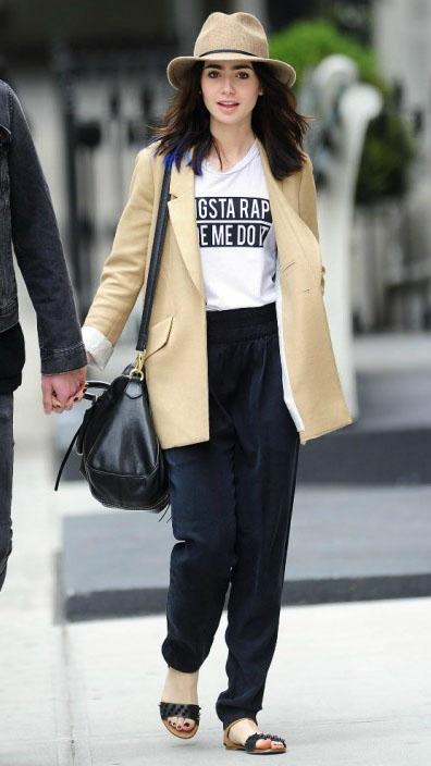 Never Be Afraid I Celebrity Inspiration Fashion Lily