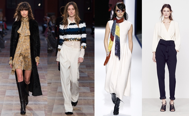 Best of PARIS Fashion Week Fall 2016.Paris fw fall 2016:Sonia Rykiel,Talbot Runhof,Vanessa Bruno.