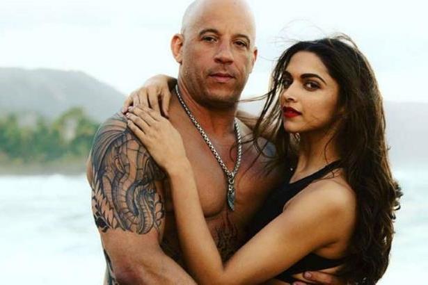 xXx: Return of Xander Cage, Deepika Padukone, Stunning, Ravishing, Vin Diesel, getting cozy
