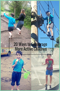 Encourage children of all ages to get more active this summer with our top ideas!