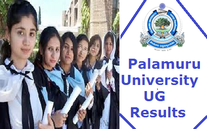 Palamuru University Degree Results
