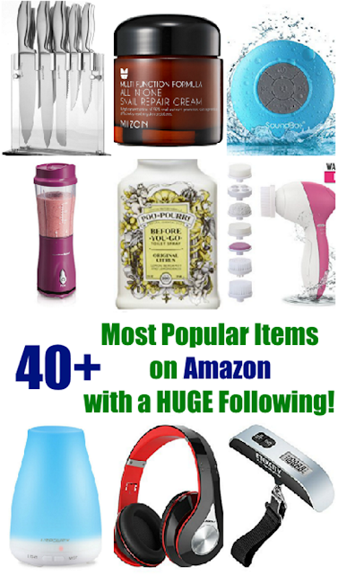 40+  Most Popular Items on Amazon that Have a HUGE Following!