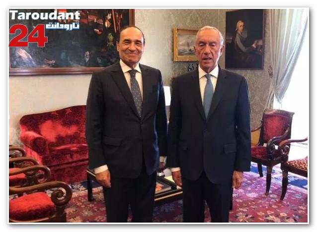 خلال استقباله لرئيس مجلس النواب.. الرئيس البرتغالي يؤكد أن المغرب فاعل أساسي بالمنطقة
