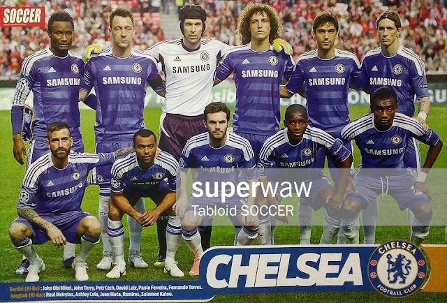 Chelsea FC Team Squad 2011