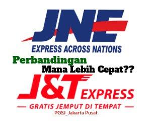 Perbandingan Kecepatan Antara JNE DAN J&T
