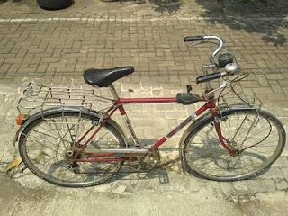 Jual sepeda balap jadul Sanki Sport..