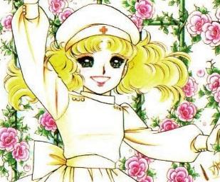 Dibujo de Candy vestida de enfermera