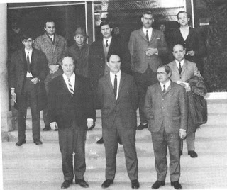 Participantes en el Torneo de Ajedrez de Olot 1969