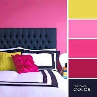 Pilihan Tema Warna dengan Variasi Warna Cat Rumah Pink