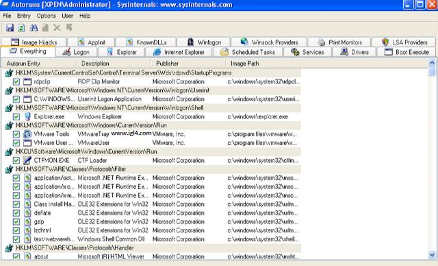 تحميل برنامج  Autoruns for Windows