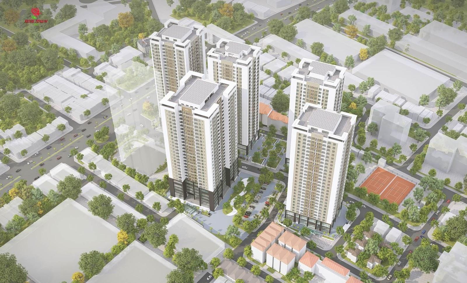 Xuân Mai ra mắt chính thức khu căn hộ Rose Town Ngọc Hồi